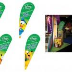 Disney Garden Teardrop Banners